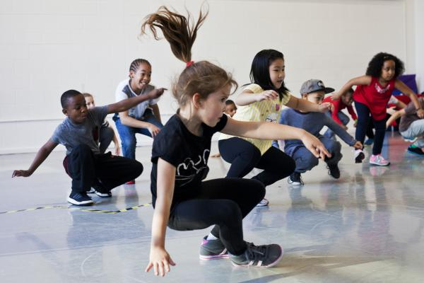 Workshop Kidsdance  Brussel.